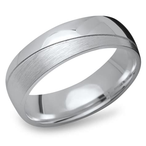 Silberring Polieren ring 925er silber matt poliert 6 5 mm r8534sl