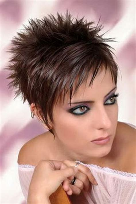 spiky pixie hairstyles for overweight women coupe de cheveux tr 232 s court femme 2014