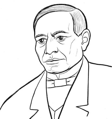Imagenes De Benito Juarez Faciles Para Dibujar | dibujos para colorear de benito ju 225 rez