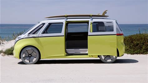 Volkswagen Buzz 2020 by Vw S Adorable I D Buzz Charms Us On The California Coast