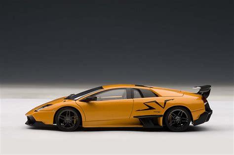 Orange Lamborghini Murcielago Highly Detailed Autoart Orange Lamborghini Murcielago