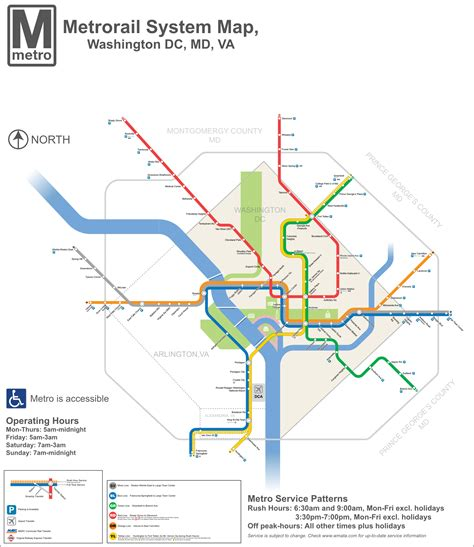 washington dc tourist map with metro stops metro lines dc transit guide