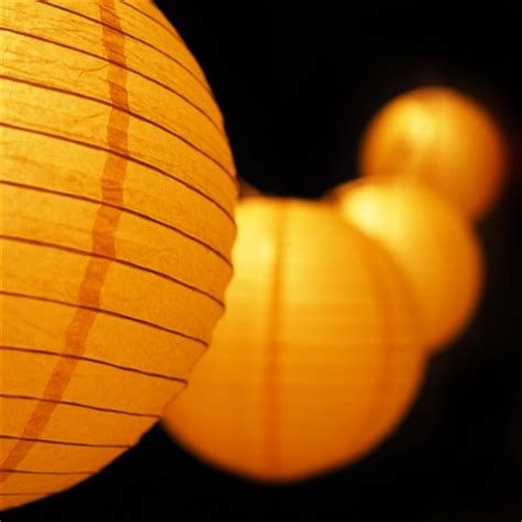 Outdoor Paper Lantern String Lights Moonbright 12 Quot Yellow Paper Lantern Outdoor String Light Set 10 Pack Combo Kit On Sale Now