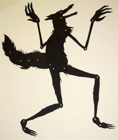 wolf puppet template shadow puppet wolf pupet shadow puppets