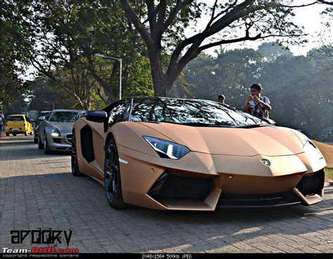 India Lamborghini Lamborghini Aventador Lp700 4 In India Page 23 Team Bhp