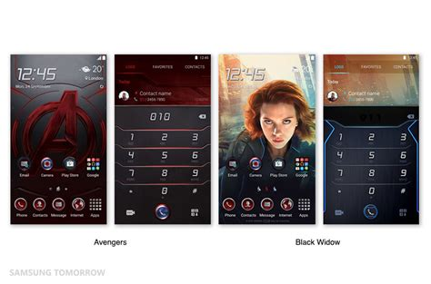 cool themes s6 edge samsung galaxy s6 themes hit 6 million downloads