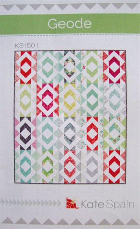 Quilt Patterns Using Eighths by Geode Quilt Pattern Kate Spain Eighths Friendly Throw Quilt Pattern Quilt Black And