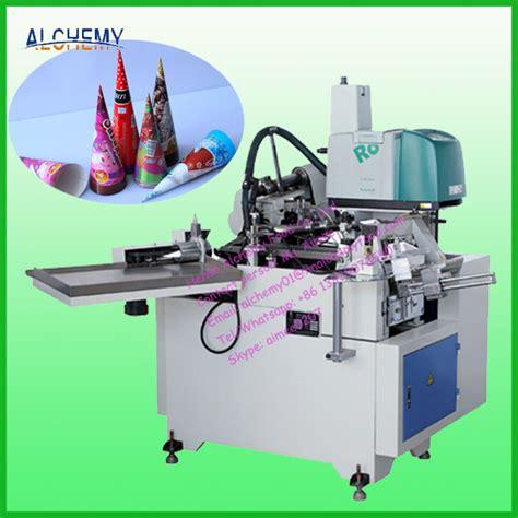 Paper Cone Machine - ce standard paper cone sleeve forming machine