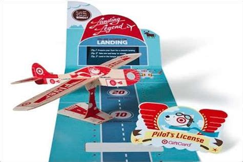 Airplane Gift Card - model airplane shopping cards target bullseye flyer gift card