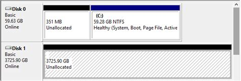 diskpart format udf trying to format 4tb internal hdd won t show up in