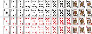 how many cards in a deck including jokers 8 best images of deck of cards pdf printable tex ritter