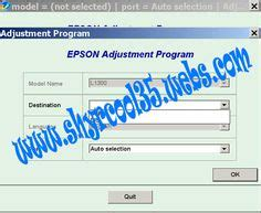 epson l1800 resetter crack epson l850 adjustment program resetter service required