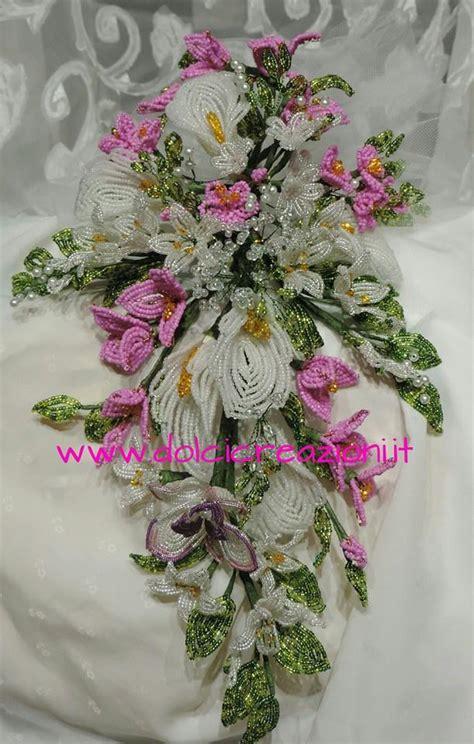 fiori di sposa fiori di perline bouquet sposa