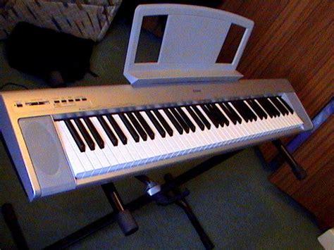 Keyboard Yamaha Np30 yamaha np30 digital piano silver for sale in dublin 4 dublin from shlmo08