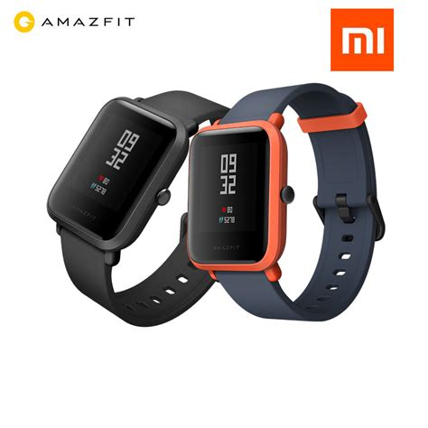 Original Xiaomi Huami Amazfit Bip Lite Youth Smart Ver original xiaomi huami amazfit bip bit pace lite youth smart mi fit reflection color screen