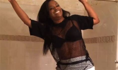 Meme Shower Rod - be careful kandi burruss tries mimi haust shower