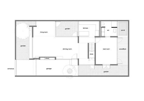 ground floor plan of a house m11 house a21 studio archdaily