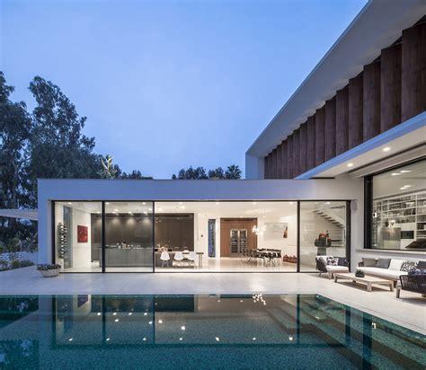 modern architecture of israeli house design aharoni house tv house a mediterranean villa by paz gersh architects