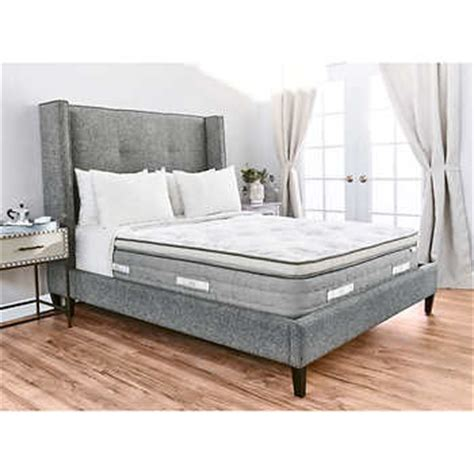 brentwood sofa costco brentwood home sequoia euro pillow top queen mattress