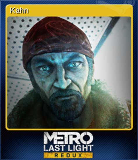 Metro Last Light Wiki by Metro Last Light Redux Kahn Steam Trading Cards Wiki