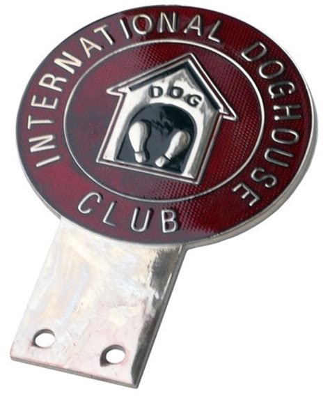 international dog house international dog house club badge