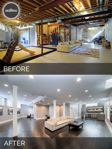 Sidd & Nisha's Basement Before & After Pictures   Home