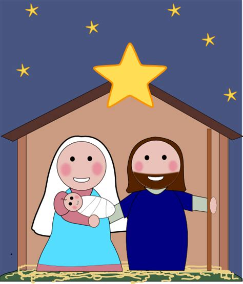 imagenes del nacimiento de jesus para imprimir nativity scene clip art at clker com vector clip art