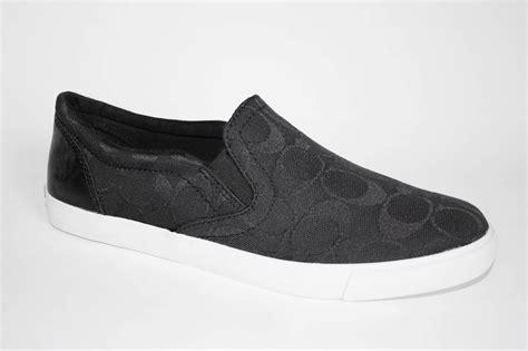 womens shoes coach a1688 alegra c signature slip on