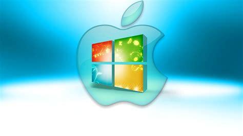 wallpaper apple untuk windows 7 windows apple mac computer operating system emblem logo hd