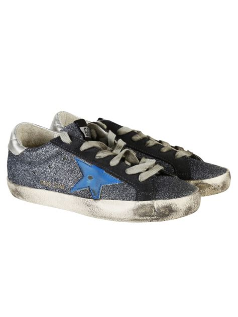 golden goose shoes golden goose golden goose sneakers blue