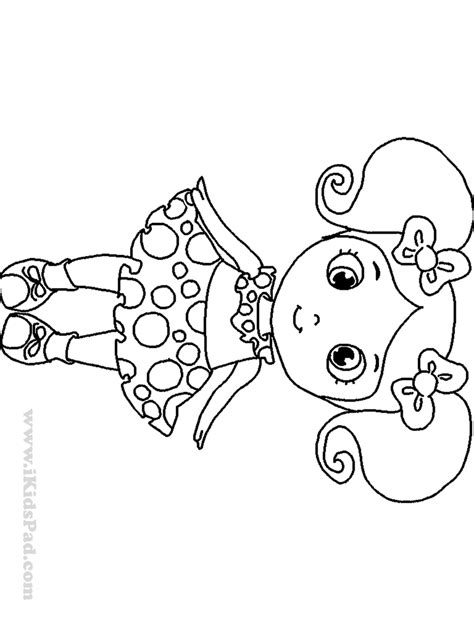 Download Coloring Pages Doll Coloring Pages Bratz Doll Childrens Colouring Pages Free