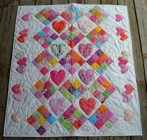 Free Patchwork Cot Quilt Patterns - baby crib quilt patterns woodworking projects plans