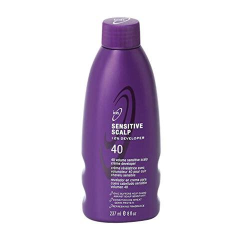 hair color for sensitive scalp ion sensitive scalp 40 volume creme developer ion beautil