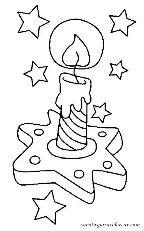 imagenes de velas navideñas para dibujar dibujos para colorear velas navide 241 as