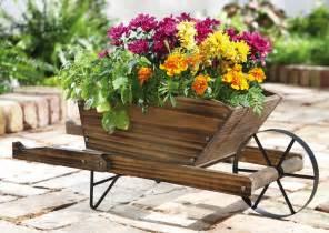 25 wheelbarrow planter ideas for your garden garden