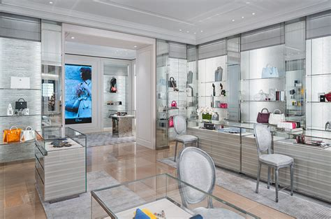 home design stores toronto interior photography the dior store at the new saks in toronto another angle