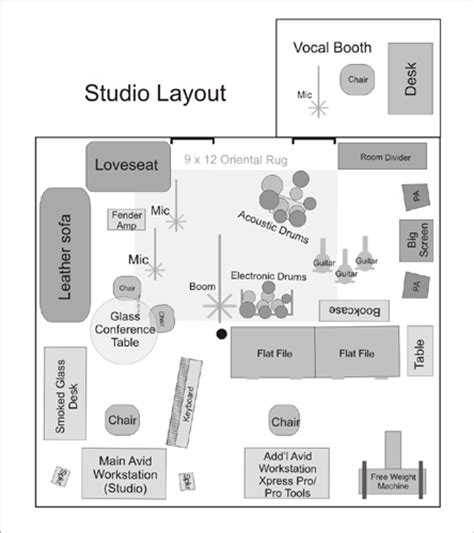studio layout show off the suite baby avid community
