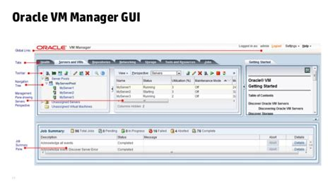 tutorial oracle vm manager oracle vm the heart of oracle cloud