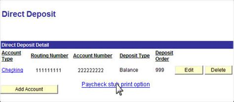 direct deposit check stub template how to change paystub print option of houston