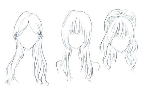 cara menggambar anime wanita bercadar cara menggambar rambut cewek mayagami
