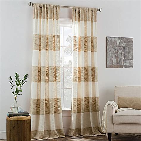 kas curtains kas room carina rod pocket window curtain panel bed bath
