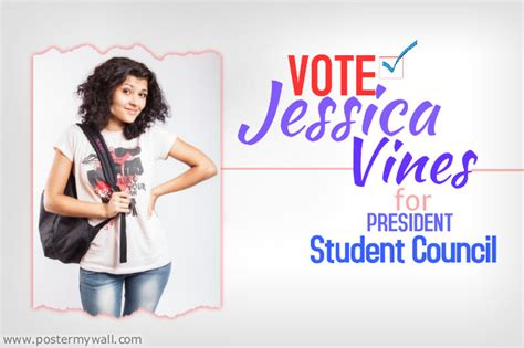 templates for student council posters caign flyer template postermywall