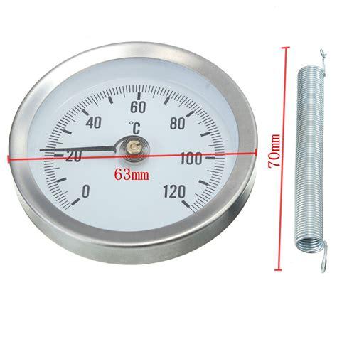 casa termometro casa industriali clip on tubo di calibro di temperatura