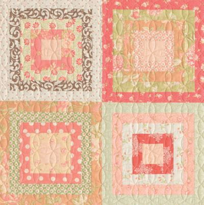 Log Cabin Patchwork History - scrap shrinker how to make a log cabin quilt block