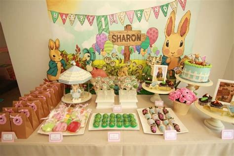 Carnival Themed Table Decorations Peter Rabbit Birthday Party Ideas Photo 3 Of 16 Catch