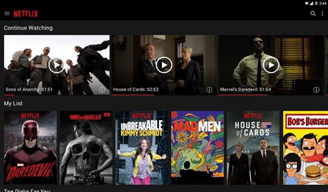 how to netflix from android phone to tv netflix apk android