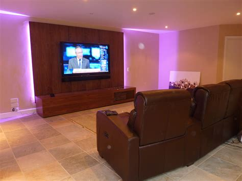 tv room basement tv and games room installation seal kent
