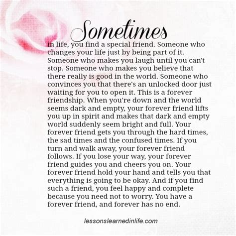 Somebodys Friend 2 by Lessons Learned In Lifeforever Friend Lessons Learned