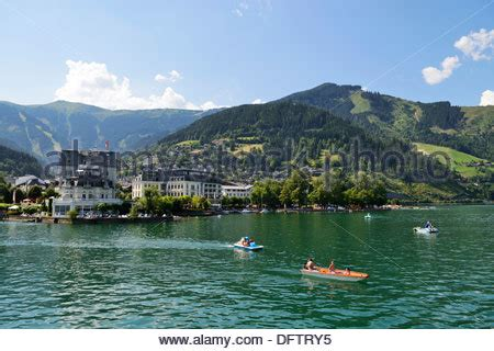 paddle boat zell am see paddleboats stock photos paddleboats stock images alamy