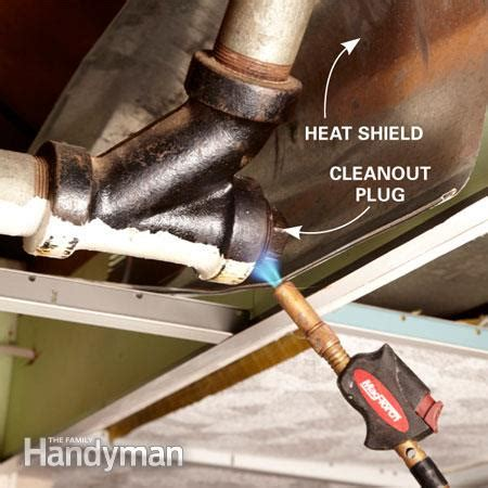 Plumb Clean by How To Remove A Stuck Cleanout The Family Handyman